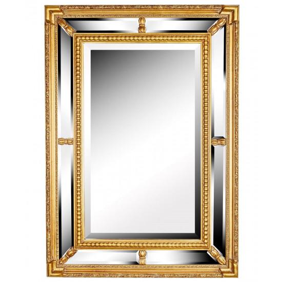 Зеркало в золотой раме Albert Gold в интернет-магазине ROSESTAR фото