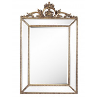 Зеркало в серебряной раме Ambren Silver