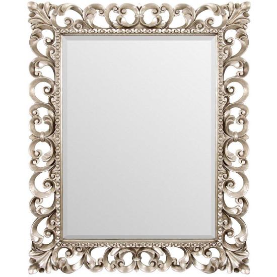 Зеркало в резной раме Bristol Silver в интернет-магазине ROSESTAR картинка