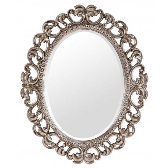 Овальное зеркало в раме Daisy Silver в интернет-магазине ROSESTAR фото