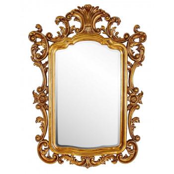 Зеркало в золотой раме барокко Devon
