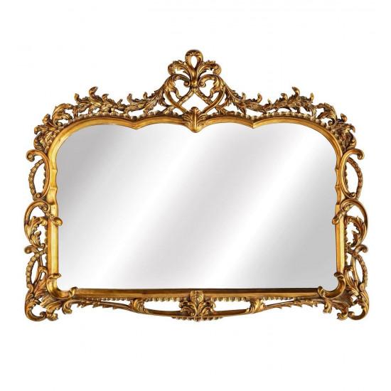 Зеркало в резной раме Bristol Gold  в интернет-магазине ROSESTAR фото