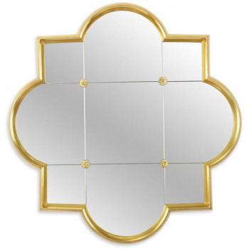 Зеркало в золотой фигурной раме Era Gold