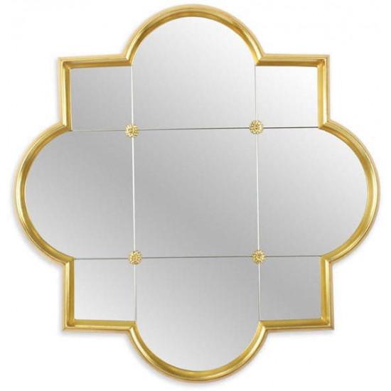 Зеркало в золотой фигурной раме Era Gold в интернет-магазине ROSESTAR фото