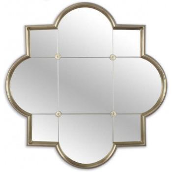 Зеркало в серебряной фигурной раме Era Silver