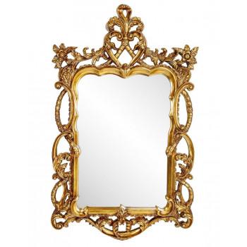 Зеркало в золотой раме Floret Gold