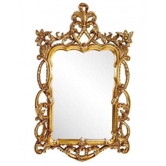 Зеркало в резной раме Floret Gold в интернет-магазине ROSESTAR фото