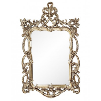Зеркало в серебряной раме Floret Silver