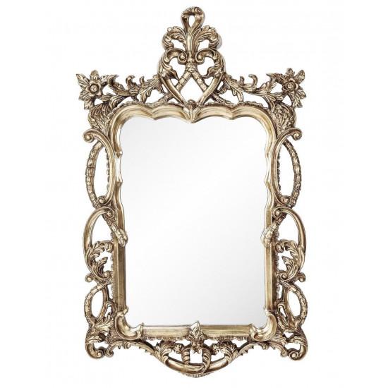 Зеркало в резной раме Floret Silver в интернет-магазине ROSESTAR фото