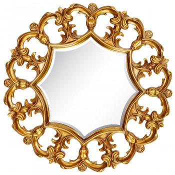 Круглое зеркало в раме Florian Gold