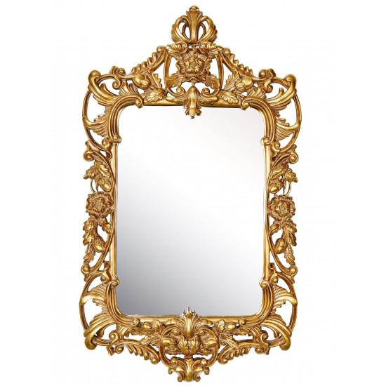 Зеркало в золотой раме барокко Frederick  в интернет-магазине ROSESTAR фото