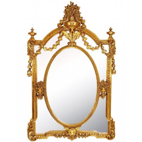 Зеркало в золотой раме Garden в интернет-магазине ROSESTAR фото