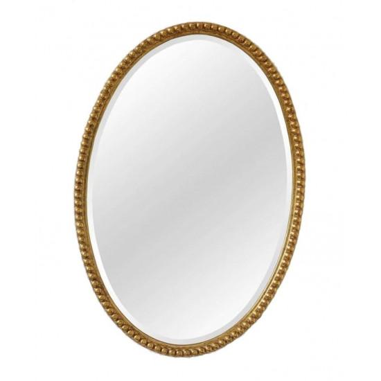 Овальное зеркало в золотой раме Globo Gold в интернет-магазине ROSESTAR фото