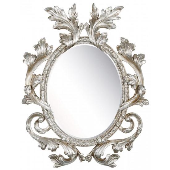 Зеркало в серебряной раме Glory Silver  в интернет-магазине ROSESTAR фото