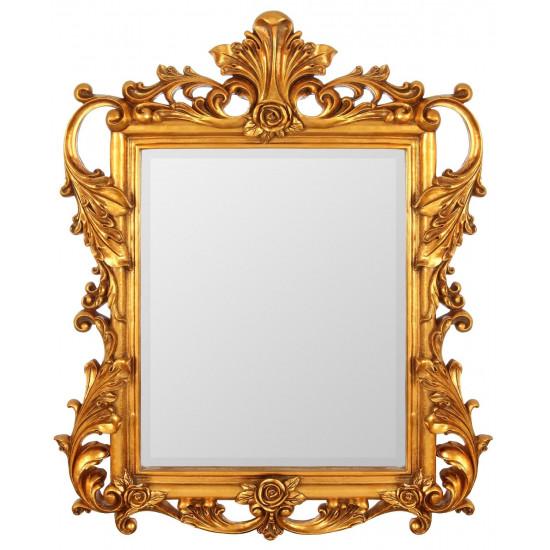 Зеркало в золотой раме Juno Gold в интернет-магазине ROSESTAR фото