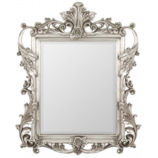 Зеркало в серебряной раме Juno Silver в интернет-магазине ROSESTAR фото