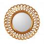 Круглое зеркало в раме Kimberly Gold  в интернет-магазине ROSESTAR фото