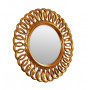 Круглое зеркало в раме Kimberly Gold  в интернет-магазине ROSESTAR фото 1