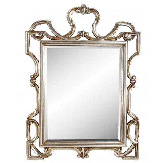 Зеркало в резной раме King Silver
