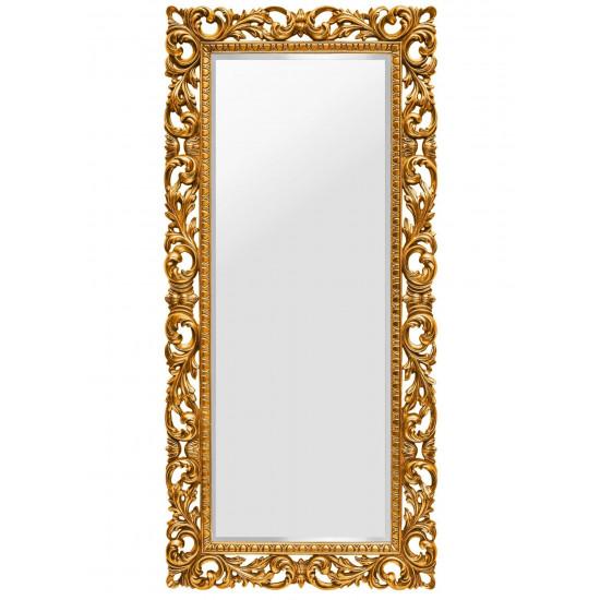 Зеркало в полный рост в золотой раме Kingsley Gold в интернет-магазине ROSESTAR фото