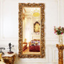 Зеркало в полный рост в золотой раме Kingsley Gold в интернет-магазине ROSESTAR фото 2