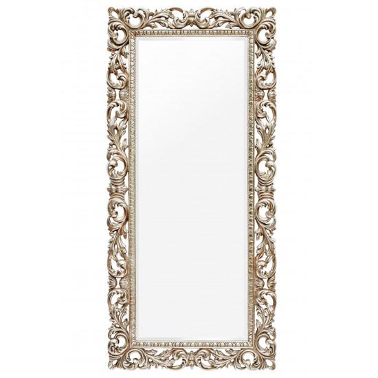 Зеркало в полный рост в серебряной раме Kingsley Silver  в интернет-магазине ROSESTAR фото