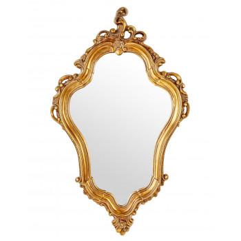 Зеркало в золотой фигурной раме Lady
