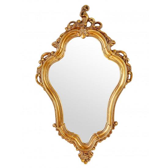 Зеркало в золотой фигурной раме Lady в интернет-магазине ROSESTAR фото