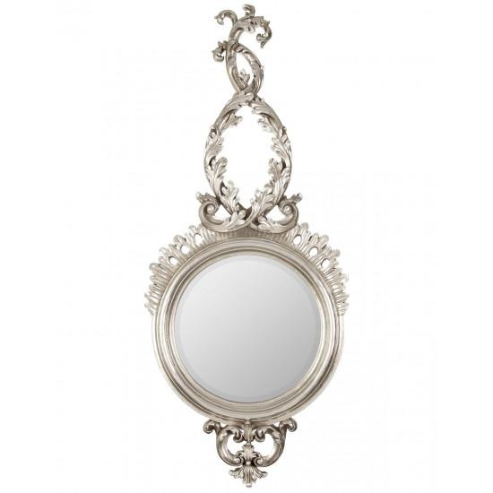 Зеркало в серебряной раме Liana Silver  в интернет-магазине ROSESTAR фото