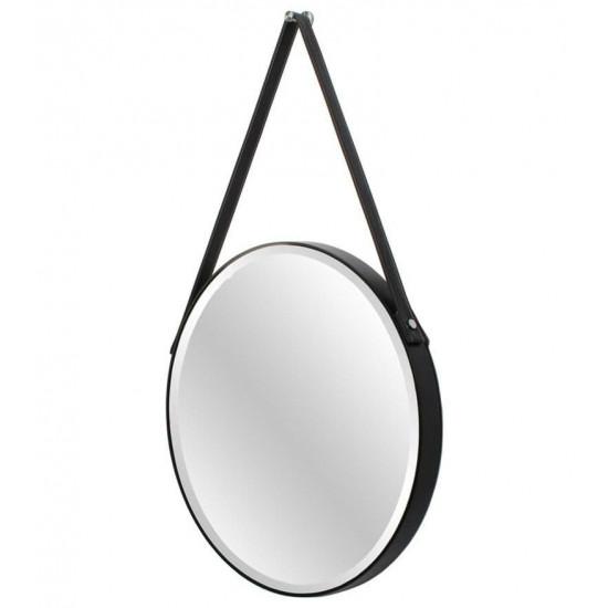 Зеркало на ремне круглое Loft в интернет-магазине ROSESTAR фото