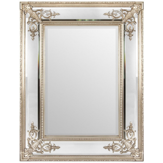 Зеркало в серебряной раме Lord Silver  в интернет-магазине ROSESTAR фото