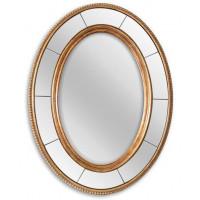 Овальное зеркало в раме Lorena Gold