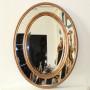 Овальное зеркало в золотой раме Lorena Gold в интернет-магазине ROSESTAR фото 1