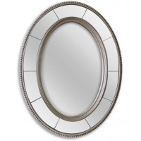 Овальное зеркало в раме Lord Silver