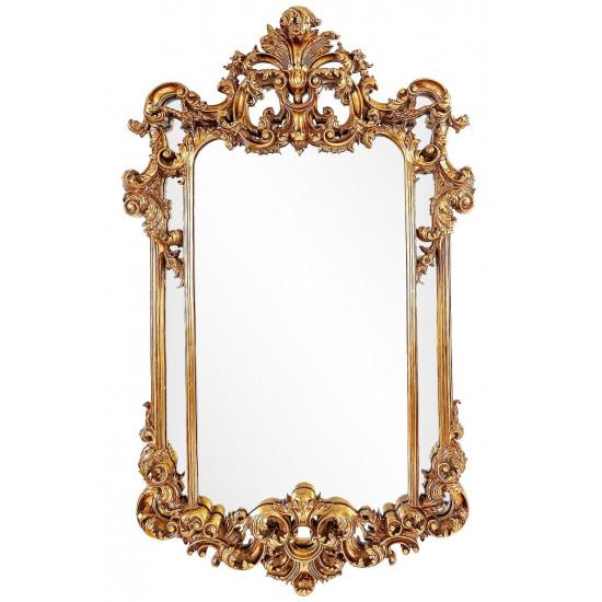 Зеркало в золотой раме Marriot в интернет-магазине ROSESTAR фото