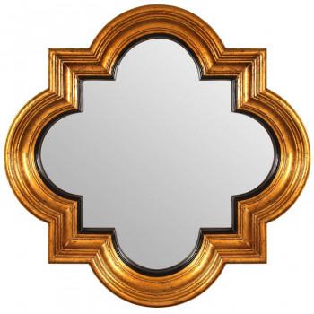 Зеркало в золотой фигурной раме Morocco Gold