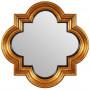 Зеркало в золотой фигурной раме Morocco Gold в интернет-магазине ROSESTAR фото