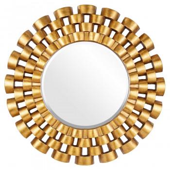 Зеркало в раме модерн Nexus Gold