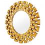 Зеркало солнце в золотой раме Nexus Gold в интернет-магазине ROSESTAR фото 1