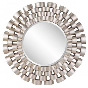 Зеркало в раме модерн Nexus Silver