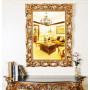 Зеркало в золотой раме Oxford Gold в интернет-магазине ROSESTAR фото 2