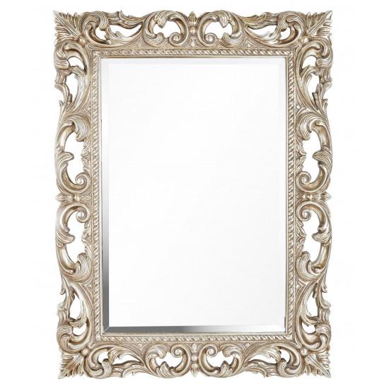 Зеркало в серебряной раме Oxford Silver в интернет-магазине ROSESTAR фото