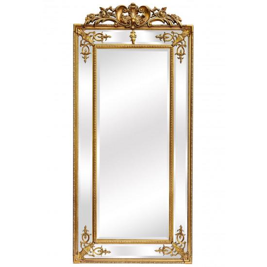 Напольное зеркало в раме Paolo Gold в интернет-магазине ROSESTAR фото