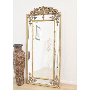 Напольное зеркало в раме Paolo Gold (Паоло Голд)