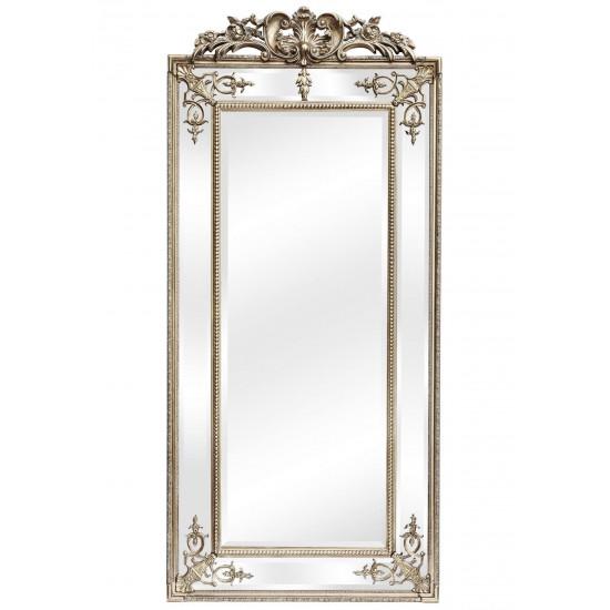 Напольное зеркало в раме Paolo Silver в интернет-магазине ROSESTAR фото