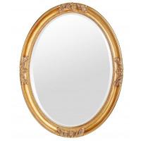 Овальное зеркало в раме Parigi Gold