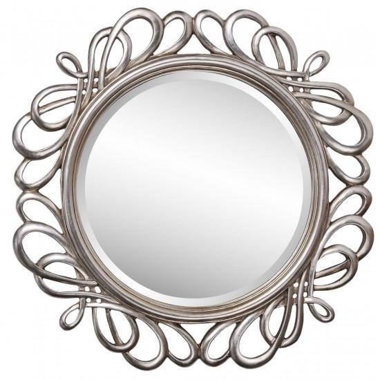 Зеркало в серебряной раме Plexus в интернет-магазине ROSESTAR фото