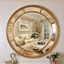 Большое круглое зеркало Prestige Gold в интернет-магазине ROSESTAR фото 2