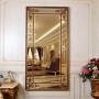 Зеркало в полный рост в золотой зеркальной раме Roberto Gold в интернет-магазине ROSESTAR фото 1