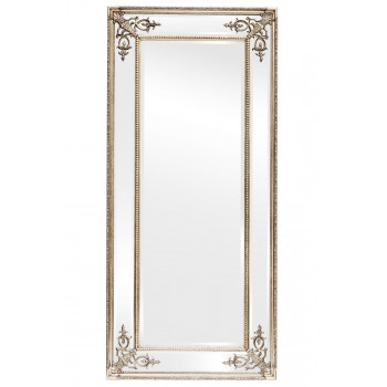 Зеркало в полный рост в серебряной раме Roberto Silver